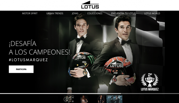 Lotus website digital marketing