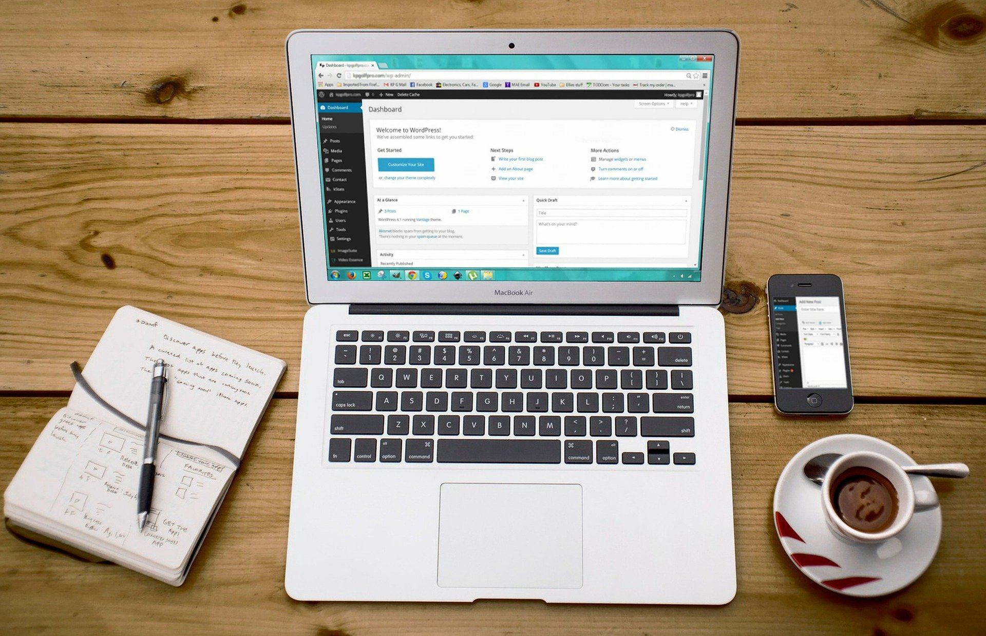 Creating your first web store - online selling sites - WordPress